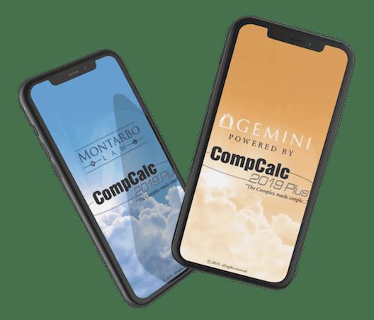 CompCalc & GeminiCalc App   Montarbo Law